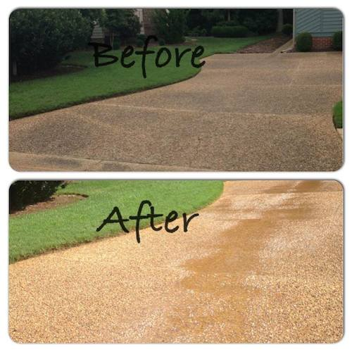 Driveway/Concrete Cleaning